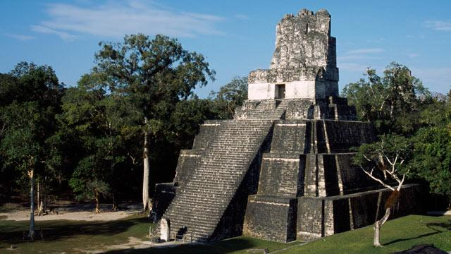 Mayan Temple Damaged by Parties