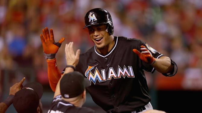 Miami Marlins v Los Angeles Angels of Anaheim