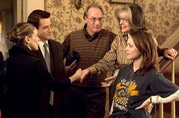 Sarah Jessica Parker , Dermot Mulroney , Craig T. Nelson , Diane Keaton and Rachel McAdams in 20th Century Fox's The Family Stone