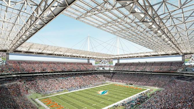 Dolphins to begin stadium renovation this summer