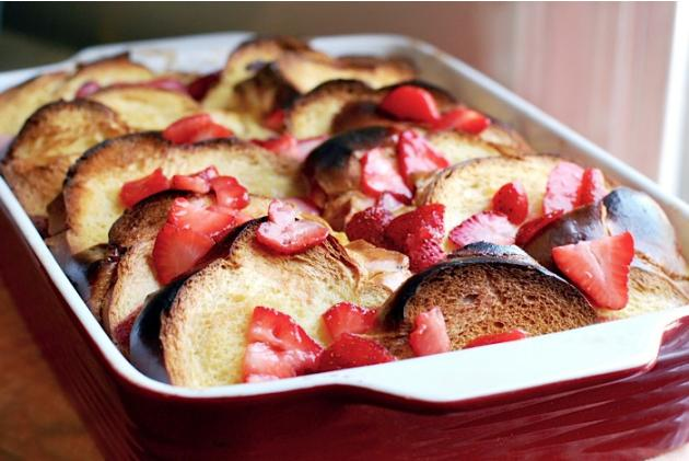 Strawberry Baked French Toast