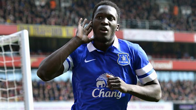 Premier League - Everton confirm £28m signing of Lukaku