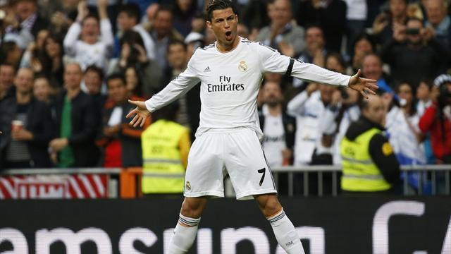 Liga - Ronaldo sends warning to Bayern with brace in Osasuna win