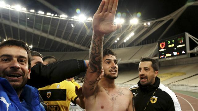European Football - Greek Nazi salute player given further sanctions