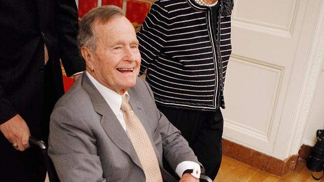George H.W. Bush in Intensive Care