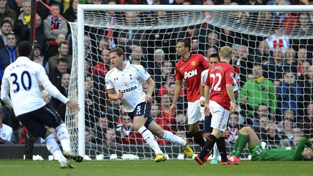 Spurs grab historic win at Manchester United
