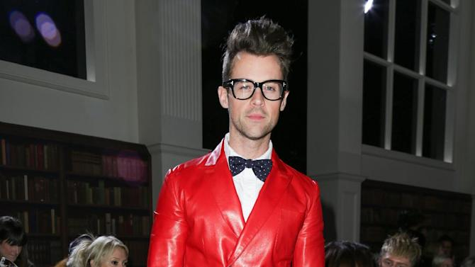 "FILE - This Feb. 10, 2013 file image released by Starpix shows stylist and TV personality Brad Goreski at the Tommy Hilfiger Fall 2013 fashion show during Fashion Week in New York. Goreski stars in the Bravo series, ""It's a Brad, Brad World,"" airing Wednesdays at 10 p.m. EST. (AP Photo/Starpix, Andrew Toth)"