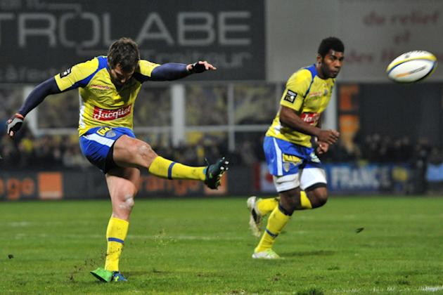 RugbyU - Clermont edge Saracens to qualify for European final