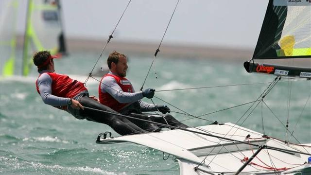 Sailing - Fletcher and Sign off to fine start at Hyeres World Cup