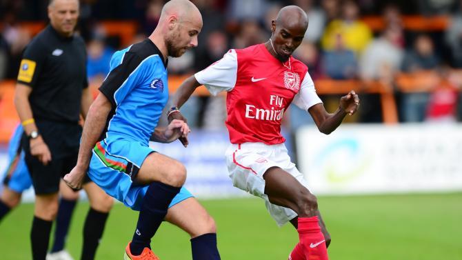 Arsenal Legends XI v World Refugee Internally Displaced Persons (IDP) XI