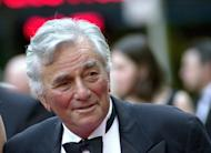 "FILE - In this May 5, 2002 file photo, actor Peter Falk, from ""Columbo,"" arrives at NBC's 75th anniversary celebration at New York's Rockefeller Center. Falk, the stage and movie actor who became identified as the squinty, rumpled detective in ""Columbo,"" died Thursday, June 23, 2011 at his Beverly Hills, Calif., home. He was 83. (AP Photo/Ron Frehm, file)"