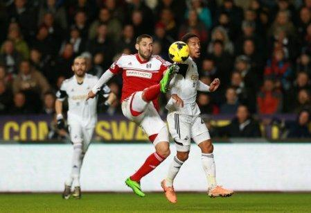 Soccer - Barclays Premier League - Swansea City v Fulham - Liberty Stadium