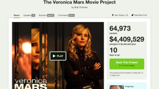 3 Crowdsourced Campaigns That Show How to Leverage Your Community image Veronica Mars Kickstarter