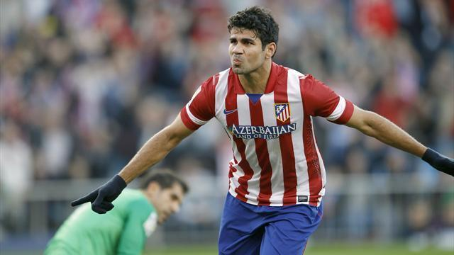 World Cup - Del Bosque calls up Brazil-born Costa for friendlies