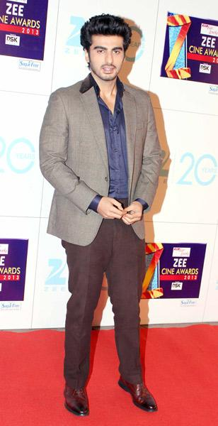 Spotted at Zee Cine Awards 2013