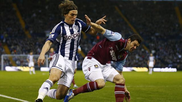 Premier League - Bore draw as West Ham hold West Brom