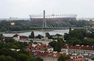 File picture. The national stadium in Warsaw during the Euro 2012 football championships. The tournament catalysed a massive shake-up of Poland's ramshackle infrastructure and transformed its image on the global stage, providing potential for long-term gains.