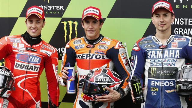 Motorcycling - Marquez takes second MotoGP pole at Le Mans