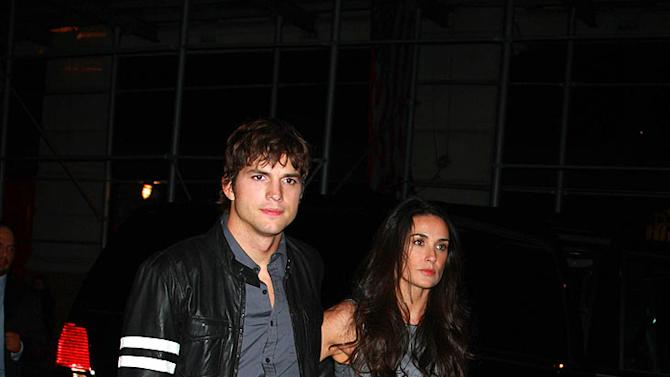 Kutcher Moore SNL Afterparty