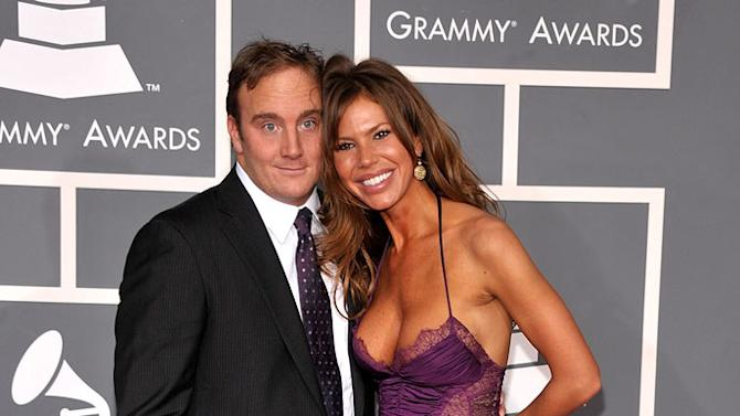 Jay Mohr and Nikki Cox arrive at the 51st Annual Grammy Awards held at the Staples Center on February 8, 2009 in Los Angeles, California.