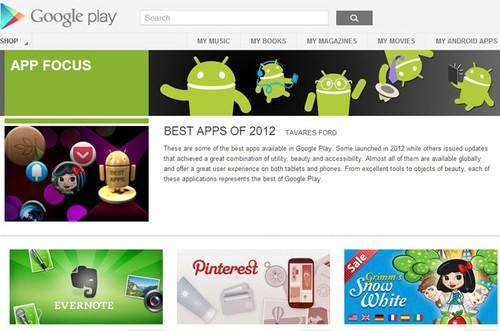 Google's favourite apps of 2012. Apps, Google, Android, Android apps 0