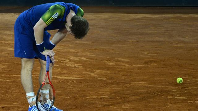 Madrid Masters - Murray stopped by Berdych in Madrid quarters