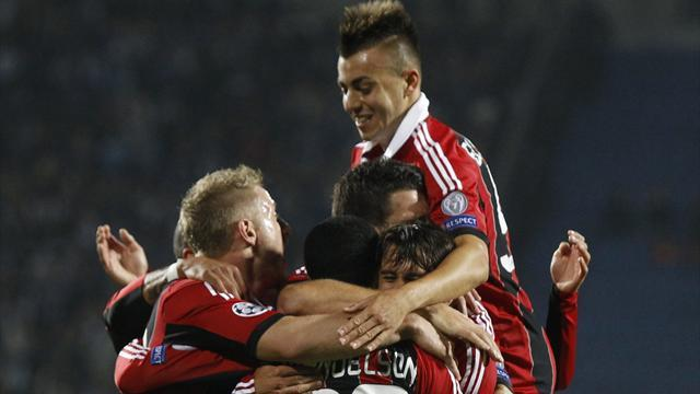Champions League - Abbiati sparkles as Milan claim win at Zenit