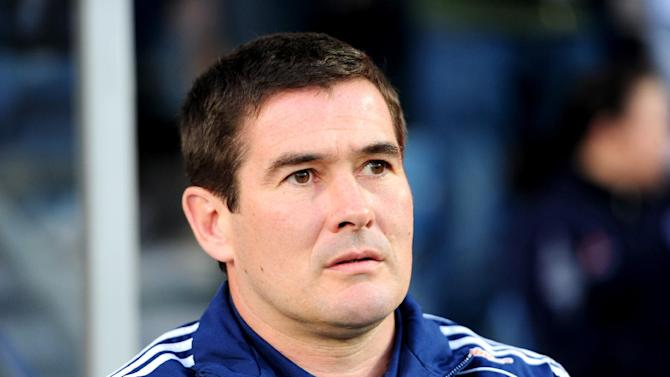 Derby boss Nigel Clough, pictured, has signed teenage defender Michael Hoganson