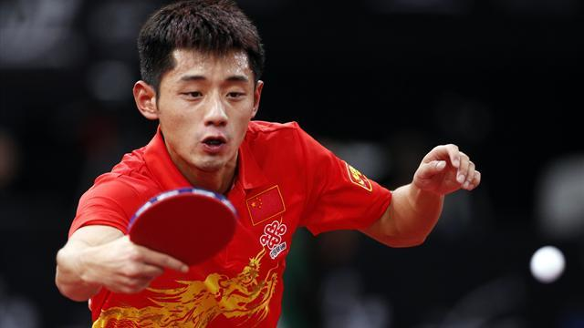 Table Tennis - Zhang Jike wins world title to complete hat-trick