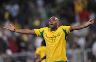 Orlando Pirates striker Benni McCarthy, seen playing for the national team in 2009, gave South Africa coach Pitso Mosimane food for thought this weekend with a title-clinching brace. McCarthy struck twice during the second half of a 4-2 Durban triumph over Golden Arrows