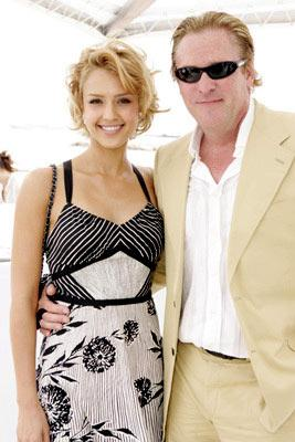Jessica Alba and Michael MadsenMiramax Luncheon Cannes Film Festival - 5/17/05