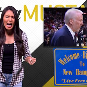 Mustard Minute: Gregg Popovich and Bernie Sanders bring politics and sports together
