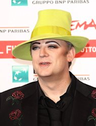 Boy George blasts Prince Harry pictures