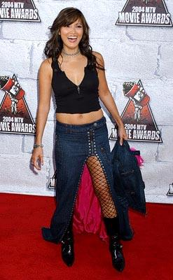 Kelly Hu, star of Harley Davidson and the Marlboro Man. MTV Movie Awards - 6/5/2004