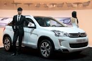 A Citroen C4 Aircross car is displayed at the Auto China 2012 car show in Beijing