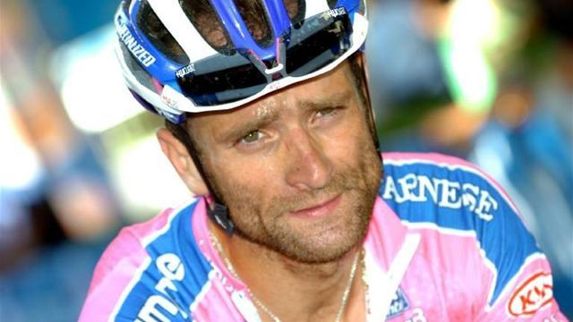 Cycling - Scarponi banned for three months for visiting Ferrari