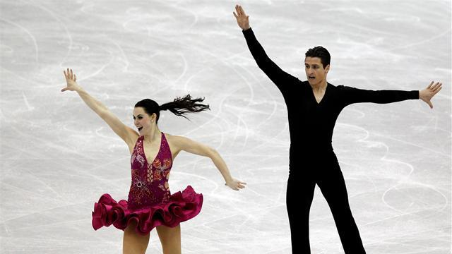 Virtue and Moir shine as Russians slip