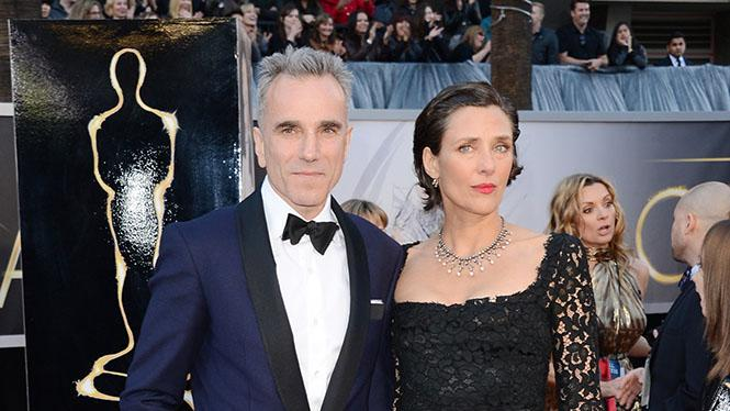 Daniel Day-Lewis and wife Rebecca Miller