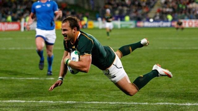 Rugby - Hougaard and Louw to miss Scotland Test
