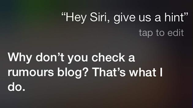Hey Siri, A Hint! What To Expect At Apple Event - Yahoo ...