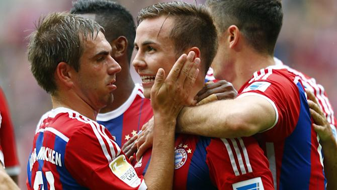 Bundesliga - Dortmund deny crazy reports of Mario Goetze return from Bayern Munich