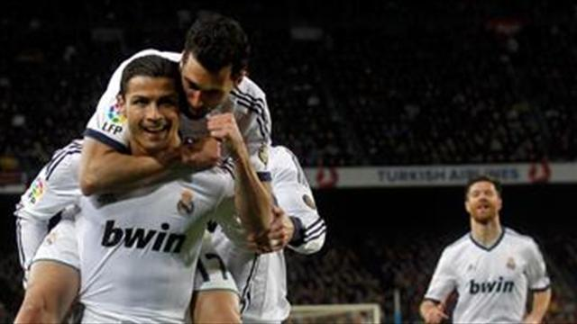 Liga - Ronaldo: Split Bernabeu no issue
