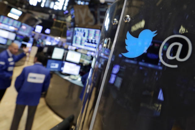 Twitter 2Q revenue grows sharply but user growth stays slow