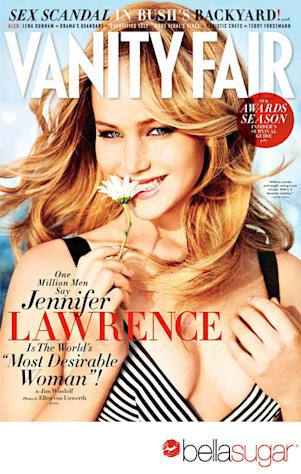 Jennifer Lawrence's Vanity Fair Cover: How to Get Her Sexy Hairstyle