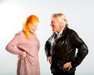 Dame Vivienne Westwood and Sir Richard Branson