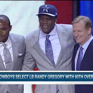 Cowboys defensive end Randy Gregory believes Dallas is the best place for him