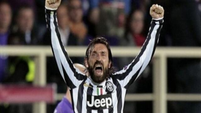 Serie A - Pirlo pays tribute to Conte on special day for Juve