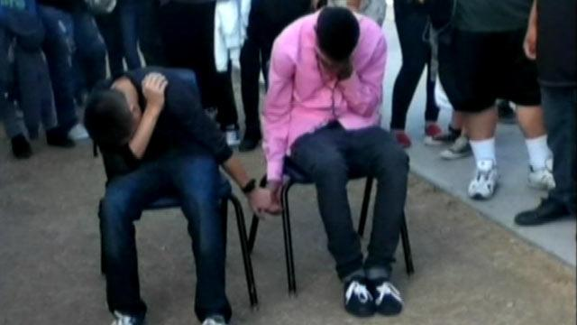 Principal Punishes High School Boys With Public Hand-Holding