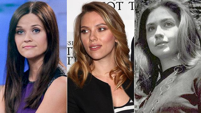 Could Reese Witherspoon or Scarlett Johansson Play Hillary Clinton?