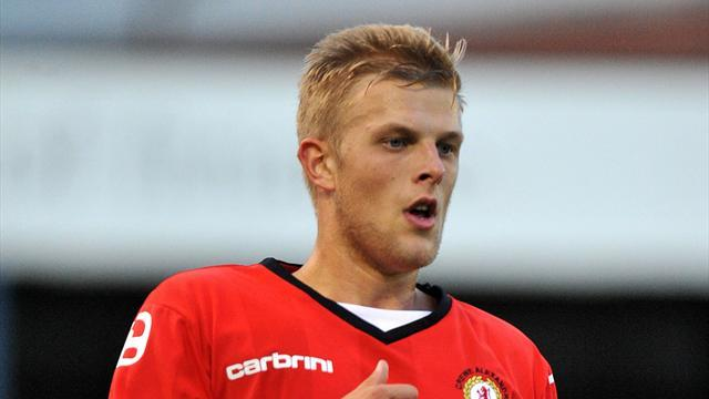 League One - Good news for Crewe's Davis